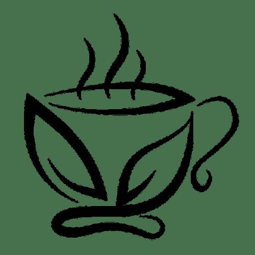 cupids love tea logo cup